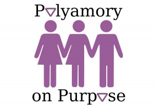 plakat Polyamory on purpose